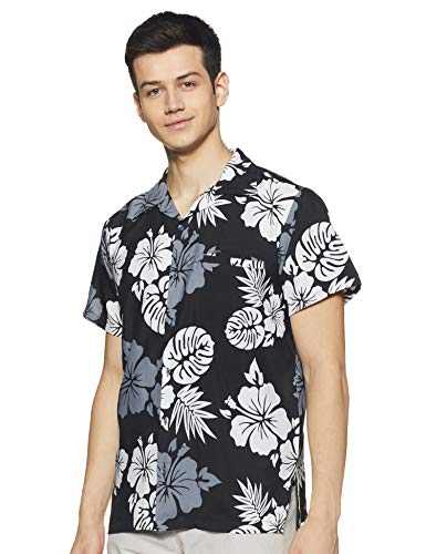 Stylore Funky Hawaiian Shirt for Men Short Sleeves Relaxed-Fit Summer Shirt