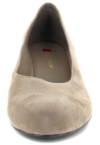 Högl 9-104202-6900 - zapatos de tacón cerrados de terciopelo mujer Beige