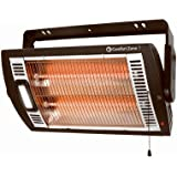 Howard Berger CZQTV5M Ceiling Mounted Quartz Heater With Light
