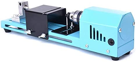 Riiai Mini Lathe Beads Machine Buddha Pearl Lathe Wood Lathe Milling Machine for DIY Woodworking