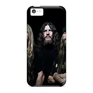 Perfect Hard Cell-phone Case For Iphone 5c (qUL2092vKhd) Customized Realistic Grave Band Series