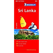 Sri Lanka National Map 803 2018