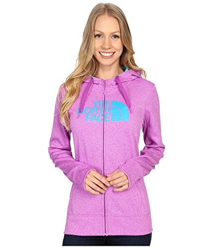 The North Face Women's Fave Half Dome Full Zip Hoodie Sweet Violet Heather/Bluebird -
