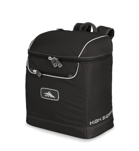 High Sierra Bucket Boot Bag Boot Bag, Black [並行輸入品] B07DVQ8DLJ