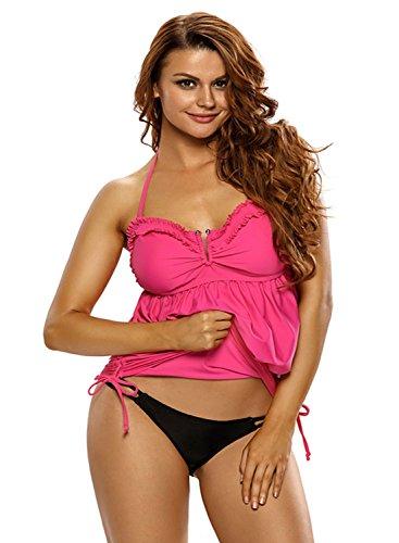 Chase Secret - Top de bikini - para mujer Rosy
