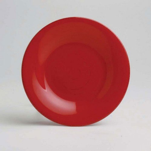 Red Appetizer Plates - Set of 4