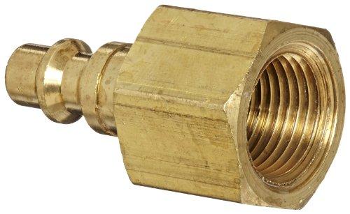 Dixon Valve DCP2023B Brass Air Chief Industrial Interchange Air Fitting, Quick-Connect Plug, 1/4
