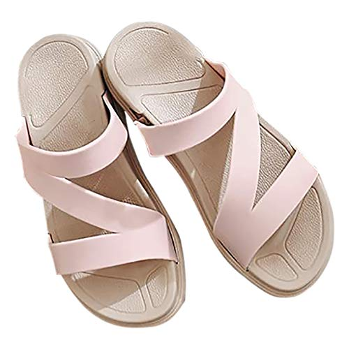 Fashion Bianca Donna Sandals Ciabatte E Huyp Wear Antiscivolo 36 Beach Parola Dimensioni Pink Camicia colore Outdoor Summer Da Sandali x7nZxq5wX