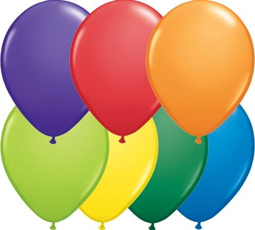 Qualatex Latex Balloons 20915-Q CARNIVAL ASSORTMENT, 11