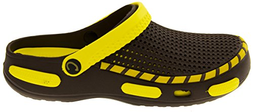 Coolers Mens Beach Clog Sandals Yellow 11 D(M) US by Coolers (Image #2)