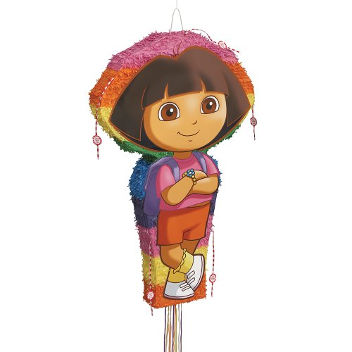 Jumbo Dora the Explorer Pinata, Pull String