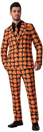 Forum Novelties Pumpkin Dress Suit and Tie Adult Costume (Adult Pumpkin Suit And Tie Costumes)