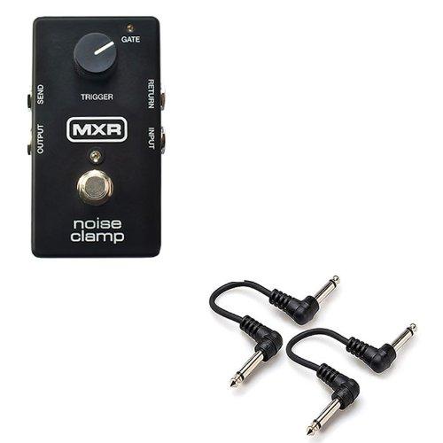 MXR M195 Noise Clamp Gate effect pedal w/ 2x 6'' Patch Cables by MXR