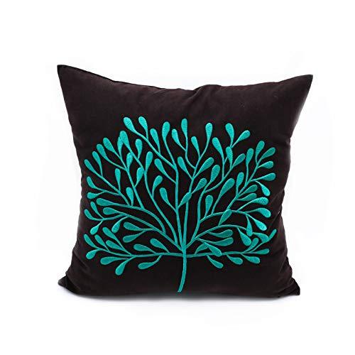 tree throw pillow cover cushion