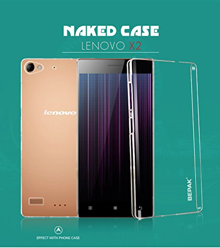 best service c6590 45fff For Lenovo Vibe X2 Hard PC Crystal Back Case Cover with FREE Screen ...
