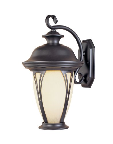 Designers Fountain 30511-AM-BZ Westchester Wall Lanterns, Bronze by Designers Fountain
