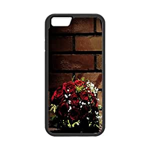 [Love Series] IPhone 6 Plus Case Wedding Photo, Ancos - Black
