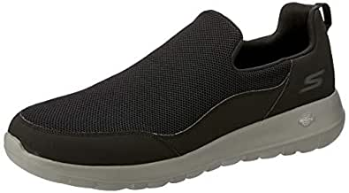 Skechers Men's GO Walk MAX - Privy Walking Shoe, Black, 10 US