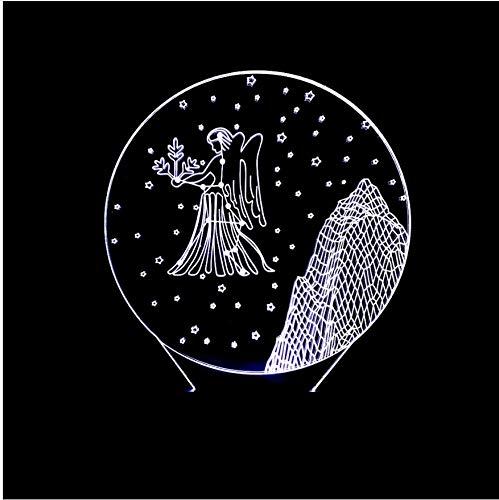 Luz Virgo Noche La Constelación De Novedad 3d R3AS4j5cLq