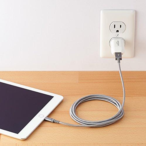 AmazonBasics Nylon Braided USB A to