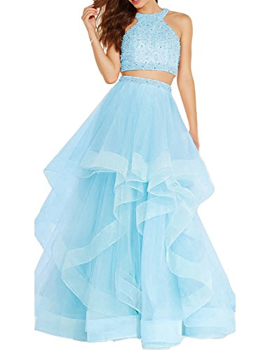 light blue ball dresses - 3