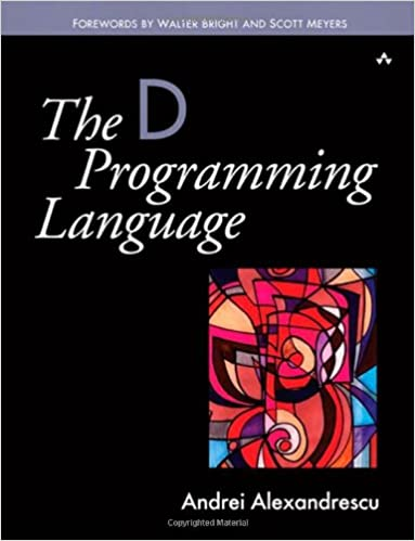 book programming language the d