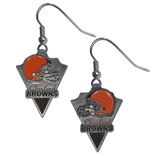 NFL Cleveland Browns Cast Dangle Earrings