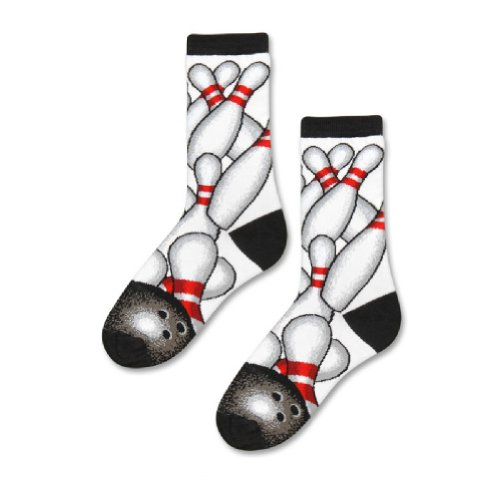 Bowling socks,Bowling Ball Pin Themed Socks