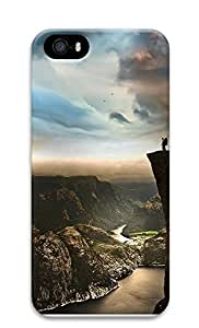 iPhone 5 5S Case Edge Of The World Norway 3D Custom iPhone 5 5S Case Cover