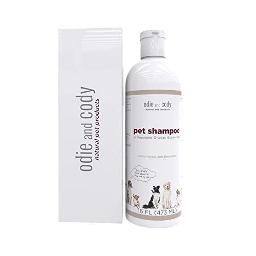 Odie And Cody Natural Dog Shampoo Organic Pet Shampoo For Dogs