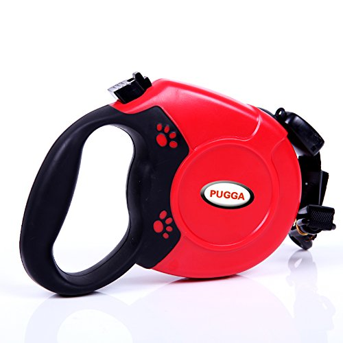 Red 26' Retractable Leash - 8