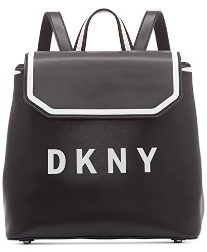 DKNY Jade Flap Backpack (Black)