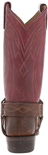 Frye Vrouwen Billy Harnas-sfgspu Western Boot Bordeaux / Multi