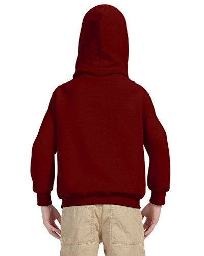 Indica Plateau Kids Hoodie I'd Rather be Camping Medium Red Hoodie by Indica Plateau (Image #3)