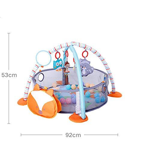 Baby multifunktionale Fitness Übung Baby Anti-Urin Krabbeln Spiel Pad Kinder Früherziehung pädagogische Spielzeug Rahmen Schlaf Pad, Marine Ball 5