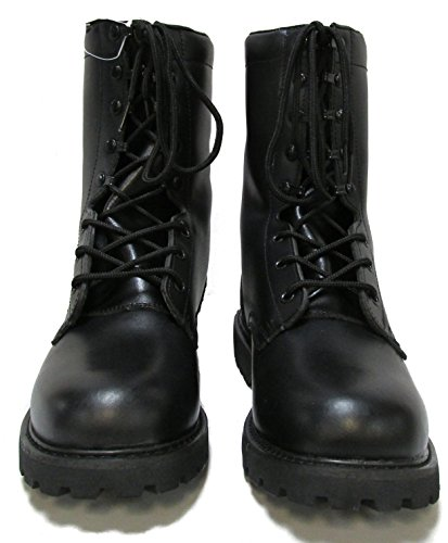 Miltiary Uniform Supply Military Uniform Supply Speedlace Leather Combat Boots - Black
