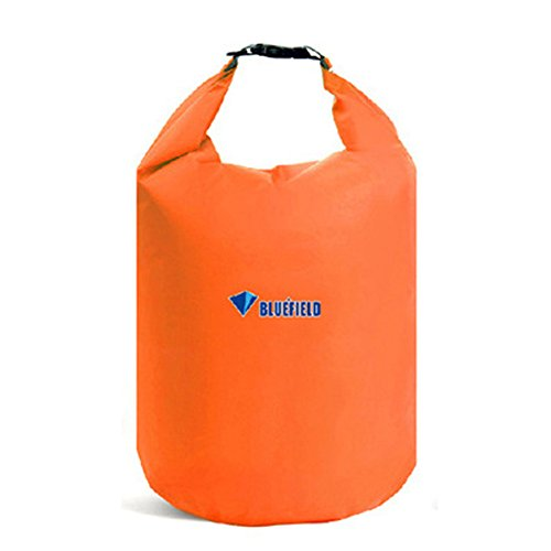 Waterproof Dry Bag Sack, GuanYuanGuang 20L/40L/70L Lightweight Dry Gear Bags for Boating, Kayaking, Fishing, Rafting, Caming, Beach (Orange-20L)