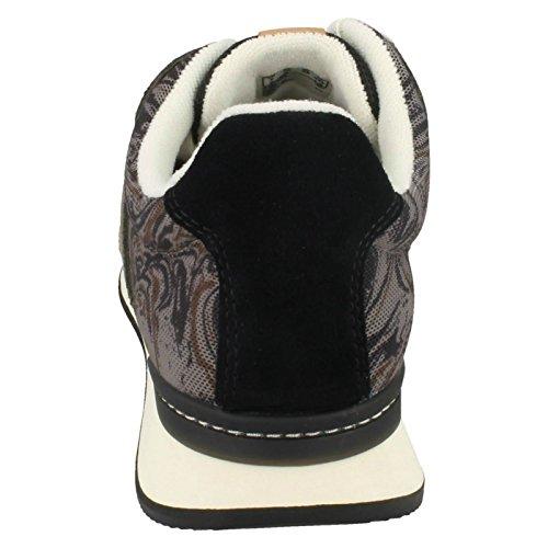 Clarks Ladies Floura Mix Sneaker Grigio
