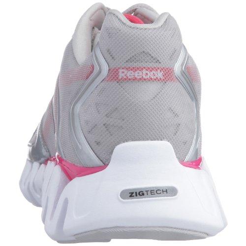 Reebok rose Zigsonic argent Chaussures Acier Multisport Femme OTOwrqf