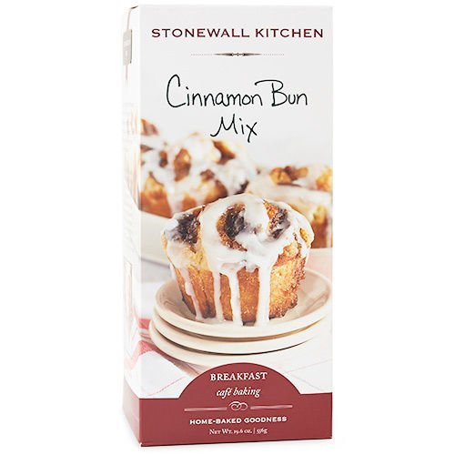 Stonewall Kitchen Cinnamon Bun Mix, 19.6 Ounce Box ()