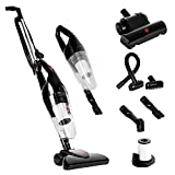Duronic VC7/BK Upright Stick Vacuum Cleaner Hand held Corded HEPA Filter Bagless Stick Vac with...