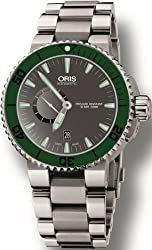 Oris Aquis Small Second Date Watch 743 7673 4157 MB