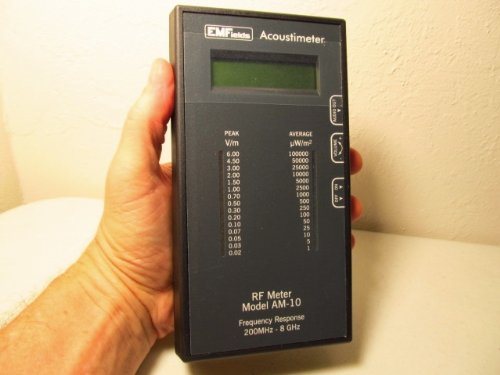 Acoustimeter RF Meter Model AM-10 Radio Frequency Meter EMF Protection. The Best RF Detector! Protect Yourself from EMF by Acoustimeter RF Meter Model AM-10 (Image #2)