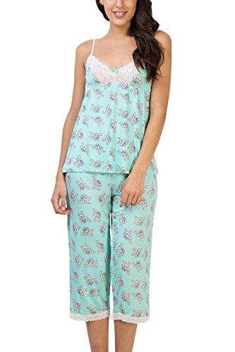 Penny by Zivame Women's Rayon Pyjama Set