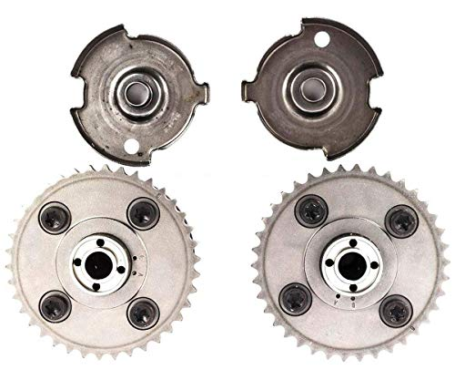 (KARPAL Intake and Exhaust Variable Valve Timing VVT Sprocket and Impulse Sending Wheel Compatible With BMW E83 E90 135i 325i 328i)
