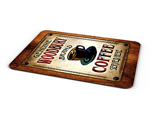 (Woodbury Coffee Mousepad/Desk Valet/Coffee Station Mat)
