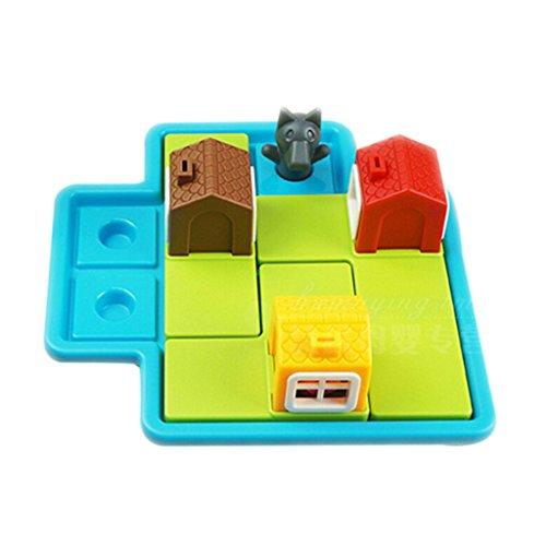 【ノーブランド品】3つ ブタ インテリジェンス ボードゲーム 子供 教育 おもちゃ 贈り物の商品画像