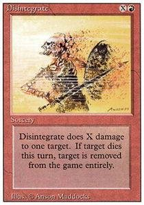Magic Gathering 3rd Edition (Magic: the Gathering - Disintegrate - Revised Edition)