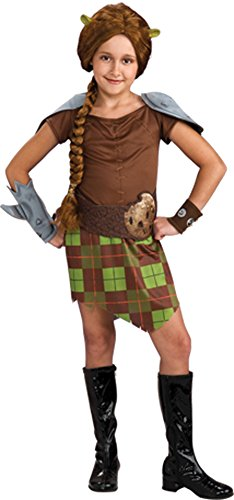 [Kids-Costume Shrek 4 Fiona Warrior Child Sm Halloween Costume] (Warrior Fiona Costumes)