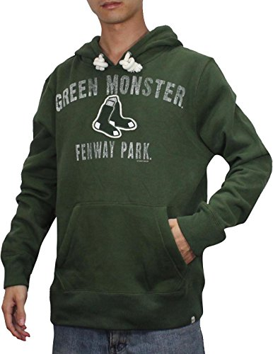 reputable site d4e72 c24ca MLB BOSTON RED SOX GREEN MONSTER Mens Pullover Hoodie ...